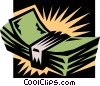 Vector Clip Art picture  of a money