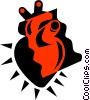 Heart Vector Clip Art graphic