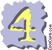 Vector Clipart illustration  of a text aids