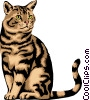Cat Vector Clip Art graphic