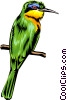 Vector Clip Art picture  of a bird