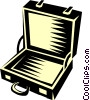 Vector Clip Art picture  of a briefcase