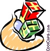 Vector Clipart picture  of a gifts