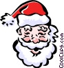 Santa Claus Vector Clipart illustration