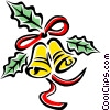 Vector Clip Art picture  of a Christmas decorations/bells