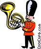 royal band Vector Clipart picture