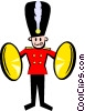 Vector Clipart graphic  of a royal band