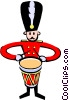 royal band Vector Clipart illustration