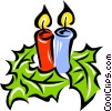 Vector Clip Art image  of a Christmas decoration
