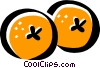 oranges Vector Clipart illustration