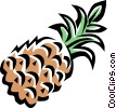 pineapple Vector Clipart image
