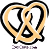 pretzel Vector Clipart illustration