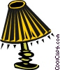 lamp Vector Clipart picture