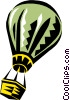 Vector Clipart graphic  of a Hot Air Balloon