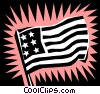 United States flag symbol Vector Clip Art picture