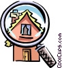 Vector Clipart graphic  of a Cabin