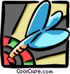 Dart in a dartboard Vector Clipart picture