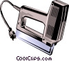 Vector Clipart graphic  of a electric stapler