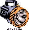Flashlight, industry Vector Clipart graphic