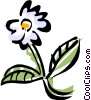 Vector Clipart illustration  of a flower