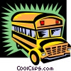 school bus Vector Clip Art picture
