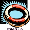 life ring Vector Clipart illustration