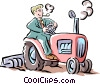 tractor Vector Clipart picture