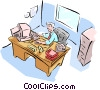 office Vector Clipart picture