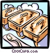 warming or serving trays Vector Clipart image