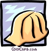 hard hat Vector Clipart illustration