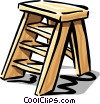stepladder Vector Clipart picture