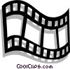 Vector Clipart picture  of a film