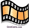 filmstrip Vector Clipart graphic