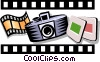 Vector Clip Art image  of an Arts