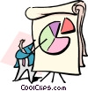 business analysis Vector Clipart graphic