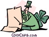 Vector Clipart graphic  of a St. Patrick's day