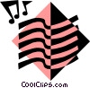 musical symbol Vector Clip Art picture