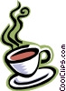 food and dining, cup of coffee Vector Clipart picture