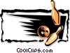 Vector Clip Art graphic  of a sports