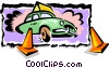Vector Clipart graphic  of a fast delivery