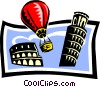 sightseeing/travel Vector Clipart picture