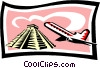 sightseeing/travel Vector Clip Art picture