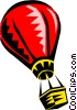 hot air ballooning Vector Clipart picture