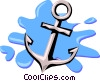 anchor Vector Clipart graphic