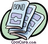 Vector Clip Art picture  of a finance booklets