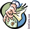Vector Clipart illustration  of a out of pocket