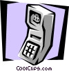 Vector Clip Art graphic  of a cell phone