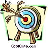 bull's-eye Vector Clipart picture