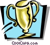 Vector Clip Art picture  of a trophy