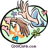 Vector Clip Art picture  of a hands